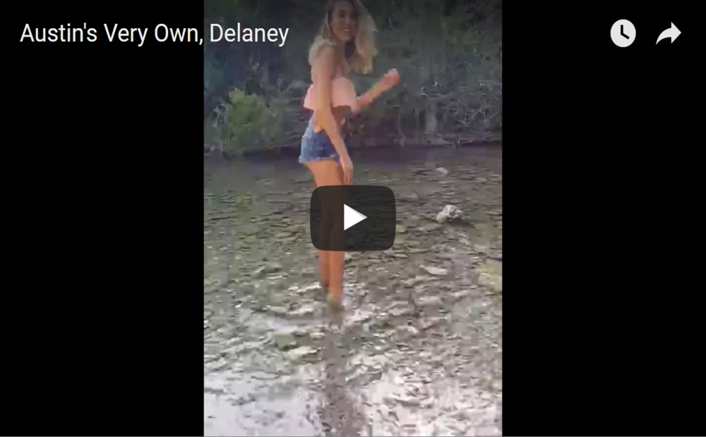 Behind the scenes video w/ beautiful Delaney