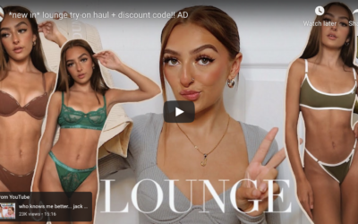 Lounge Underwear Clothing Sale & Review by Amy