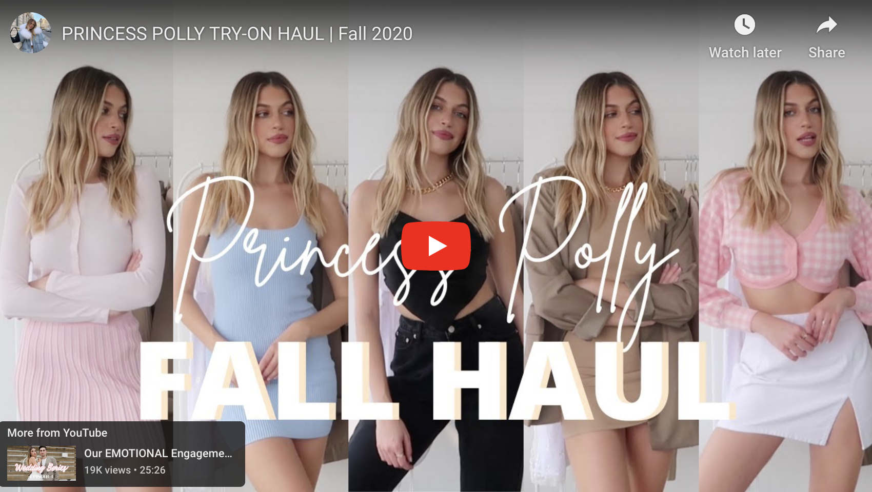 Princess Polly Fall Clothing Sale & Haul by Nitsan