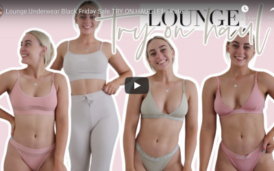 Lounge Underwear Black Friday Sale & Try On