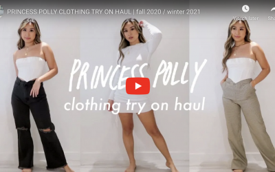 Princess Polly Fall Clothing Try On by HeyCarmen