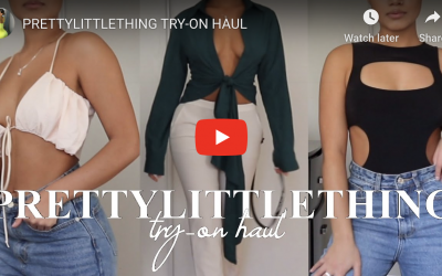 Pretty Little Thing Clothing Winter Sale & Try On