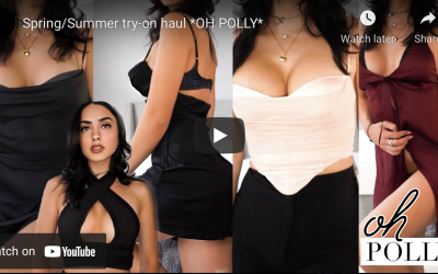 Oh Polly Spring Dresses Try On