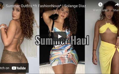 Fashion Nova Summer Outfits Review by Solange